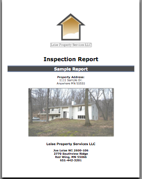 Home Inspector Red Wing Mn Leise Property Services